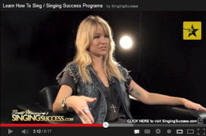 singing success video