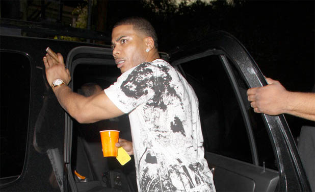 Nelly's Tour Bus Stopped in Texas: Heroin, Loaded Gun Found