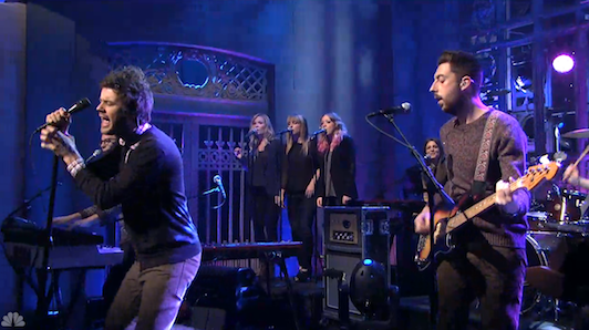 Watch: Passion Pit Rock SNL
