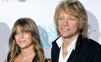 Jon Bon Jovi's Daughter Overdoses, Charged With Heroin Possession