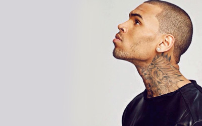 Chris Brown Signs Modeling Contract