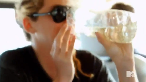 Drinking female pee or piss